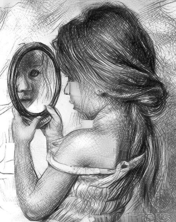 iar la oglinda de aurelia oanca
