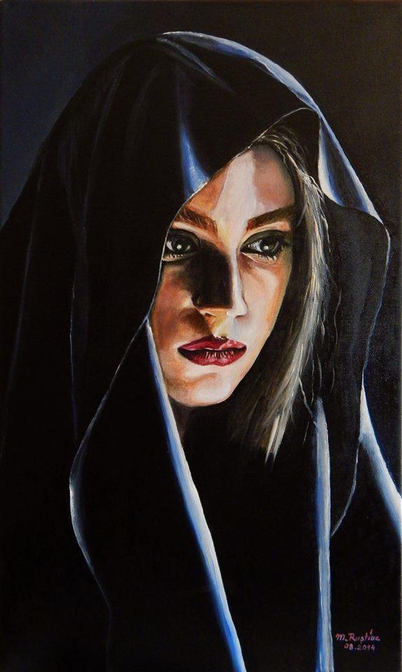 Ma doare dorul de Mihaela CD , PICTURA de Mircea Rustiuc