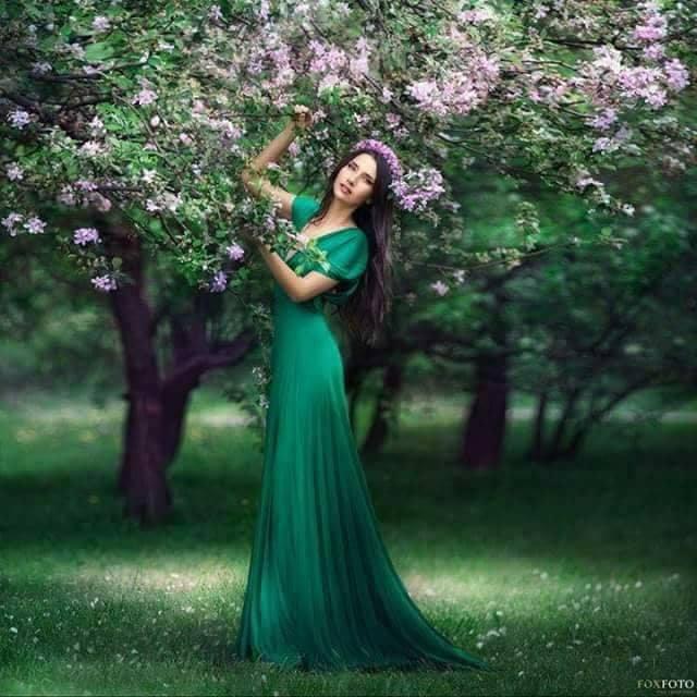 ma-nbrac in verde de aurelia oanca