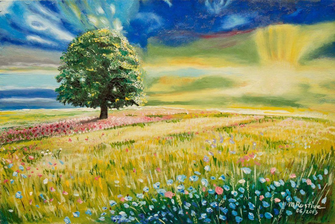 S-aducem tineretea inapoi de Mihaela CD pictura Mircea Rustiuc