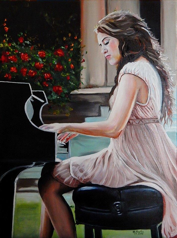 pe clape de iubire de mihaela cd pictura mircea rustiuc