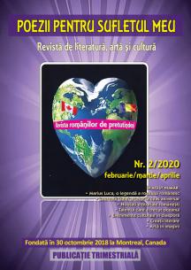Revista nr 2/2020 Poezii pentru sufletul meu ,revista romanilor de pretutindeni