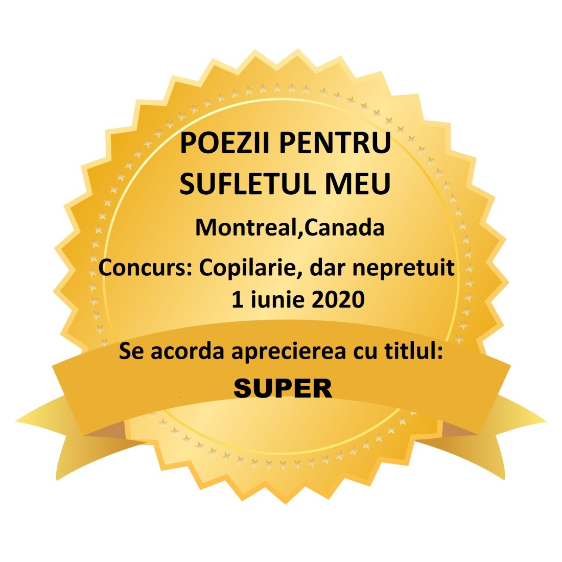 CONCURS COPILARIE-SUPER