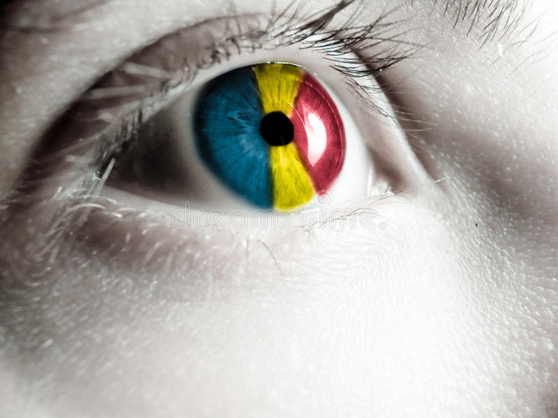 romanian-supporter-flag-eye-52413975