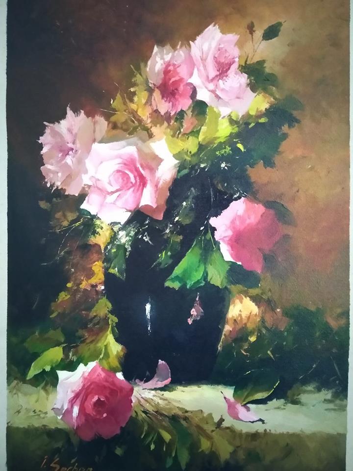 din trandafiri de aurelia oanca