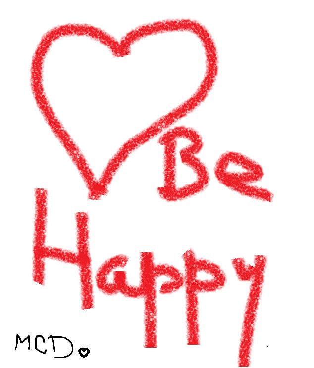 10.be happy
