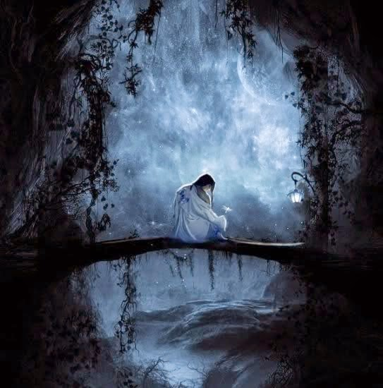 fantasy-art-fantasy-dreams-girl-Fantasy-Art-Imagenes-reyna-black-goodnight-Good-morningGood-night-ffs-2-women-Love-this-ae25-romantica-p
