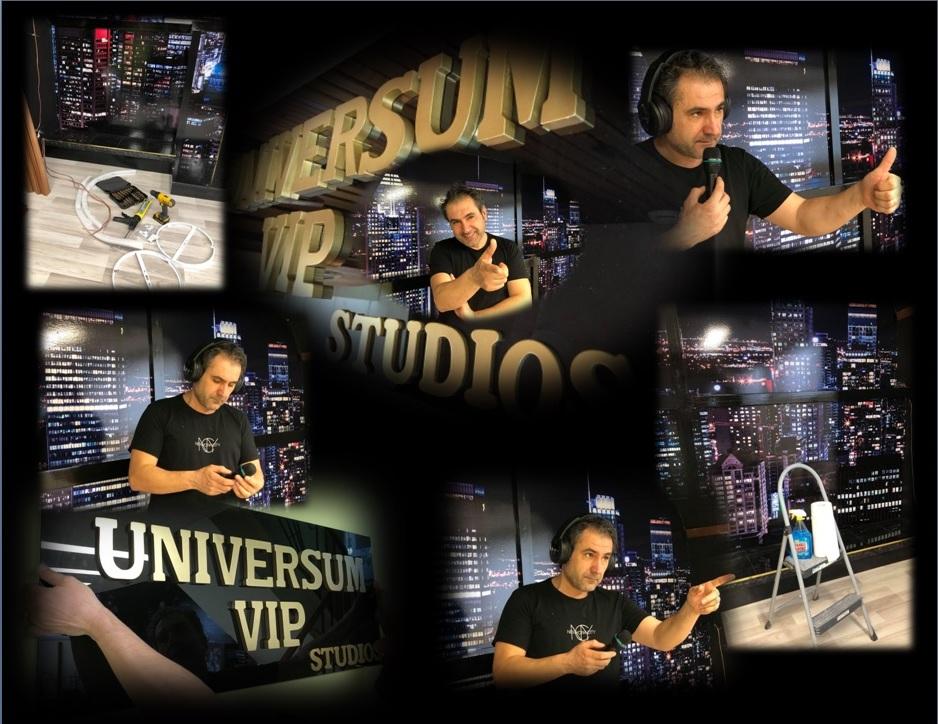 ultimele pregatiri UNIVERSUM VIP STUDIOS