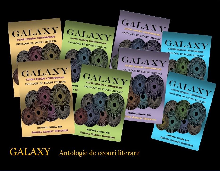 galaxy in 4 culori